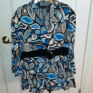 Apostrophe blouse 24/26W